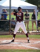 Keegan Stancato of Mountain Ridge Mountain Lions plays in the Boras Classic of Arizona on March 14, 2020 at Corona Del Sol High School in Tempe, Arizona  (Bill Mitchell)
