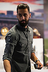 Arbeloa during the tribute to Cristiano Ronaldo by Real Madrid CF on the occasion of his new record by being the top scorer in the club's history at Santiago Bernabeu Stadium in Madrid, October 02, 2015.<br /> (ALTERPHOTOS/BorjaB.Hojas)