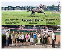 Unbridled Humor winning at Delaware Park on 7/5/11