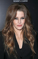 """12 July 2020 - Benjamin Keough, Son of Lisa Marie Presley and Grandson of Elvis Presley, Dead at 27 From Apparent Suicide. File photo: 23 April 2015 - Las Vegas, Nevada - Lisa Marie Presley. Red Carpet Premiere of """"The Elvis Experience"""" Musical Production at The Westgate Las Vegas Resort and Casino. Photo Credit: MJT/AdMedia"""