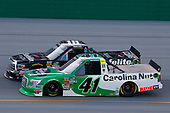 #41: Ben Rhodes, ThorSport Racing, Ford F-150 Alpha Energy Solutions and #18: Noah Gragson, Kyle Busch Motorsports, Toyota Tundra Safelite AutoGlass