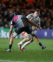 Friday 13th December 2019 | Harlequins vs Ulster Rugby<br /> <br /> Jordi Murphy during the Heineken Champions Cup Round 4 clash in Pool 3, between Harlequins and Ulster Rugby and Harlequins at The Stoop, Twickenham, London, England. Photo by John Dickson / DICKSONDIGITAL