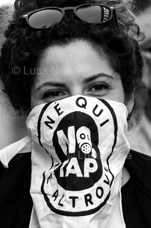 Unknown, Protester.