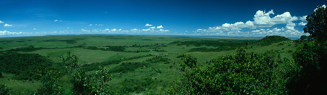 Maasai Mara from Aga Khan's seat