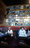 San Francisco:  North Beach, Caffe Trieste--Interior.  Photo '84.