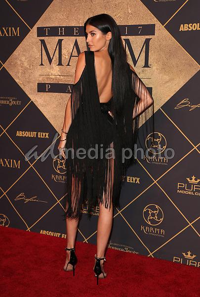 25 June 2017 - Hollywood, California - Nicole Williams. 2017 MAXIM Hot 100 Party held at the Hollywood Palladium. Photo Credit: F. Sadou/AdMedia