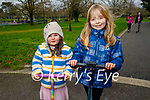 Enjoying a stroll in the Tralee town park, l to r: Mia O'Mahoney Barrera and Emma Lenihan