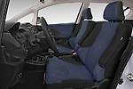 Front seat view of a 2014 Honda Jazz s 5 Door Hatchback 2WD Front Seat car photos