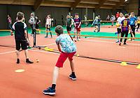 Alphen aan den Rijn, Netherlands, December 14, 2018, Tennispark Nieuwe Sloot, Ned. Loterij NK Tennis,  Schooltennis<br /> Photo: Tennisimages/Henk Koster