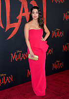 """LOS ANGELES, CA: 09, 2020: Aulii Cravalho at the world premiere of Disney's """"Mulan"""" at the El Capitan Theatre.<br /> Picture: Paul Smith/Featureflash"""