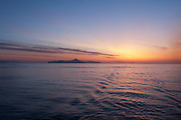 Sunrise In the Aleutian Islands.