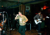 Mike Pare, Joey Vela, Trent Nelson. Rabid Lassie playing The Vis.; San Francisco, CA<br />