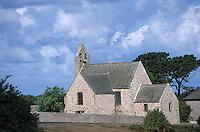 Europe/France/Bretagne/22/Côtes d'Armor/Pleherel-Plage: La chapelle du Vieux Bourg
