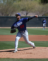 Robinson Ortiz - Los Angeles Dodgers 2019 spring training (Bill Mitchell)