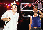 "BEASTIE BOYS  Adam""Ad-Rock"" Horovitz, Adam ""MCA"" Yauch - performing live at Greek Theatre in Los Angeles, Ca June 22, 1987"