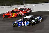 #7: Justin Allgaier, JR Motorsports, Chevrolet Camaro BRANDT #61: Austin Hill, Hattori Racing Enterprises, Toyota Supra Toyota Tsusho
