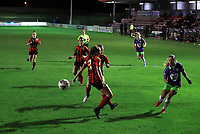Ebony Salmon of Bristol City plays a ball into the box during Lewes Women vs Bristol City Women, FA Women's Continental League Cup Football at The Dripping Pan on 18th November 2020