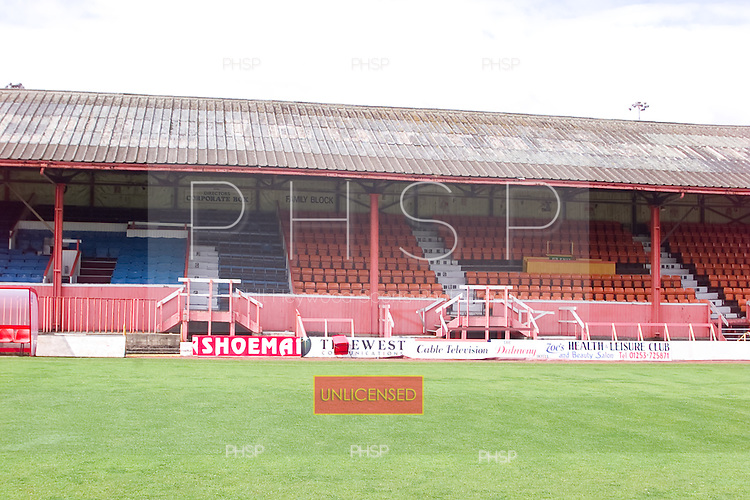 23/06/2000 Blackpool FC Bloomfield Road Ground..west stand, centre- north section.....© Phill Heywood.