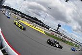 #18: Riley Herbst, Joe Gibbs Racing, Toyota Supra Monster Energy and #19: Brandon Jones, Joe Gibbs Racing, Toyota Supra Menards/Inspire