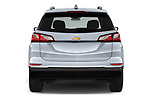 Straight rear view of a 2020 Chevrolet Equinox Premier 5 Door SUV stock images