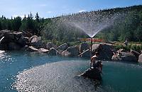 USA, Alaska, Heiße Quellen in Chena Hot Springs nahe Fairbanks