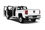 Car images close up view of a 2018 Chevrolet Silverado 2500HD LT 4WD Crew Cab 4 Door Pick Up doors