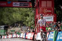 Solo win by Jesus Herrada (ESP/Cofidis) on stage 6<br /> <br /> Stage 6: Mora de Rubielos to Ares del Maestrat (199km)<br /> La Vuelta 2019<br /> <br /> ©kramon