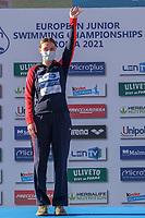 SHANAHAN Katie GBR<br /> 400 Ind. Medley  women<br /> swimming, nuoto<br /> LEN European Junior Swimming Championships 2021<br /> Rome 2176<br /> Stadio Del Nuoto Foro Italico <br /> Photo Giorgio Scala / Deepbluemedia / Insidefoto