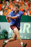 22-9-06,Leiden, Daviscup Netherlands-Tsjech Republic, Jiri Novak