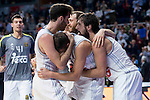 Real Madrid´s player Jayce Carroll during the 4th match of the Turkish Airlines Euroleague at Barclaycard Center in Madrid, Spain, November 05, 2015. <br /> (ALTERPHOTOS/BorjaB.Hojas)