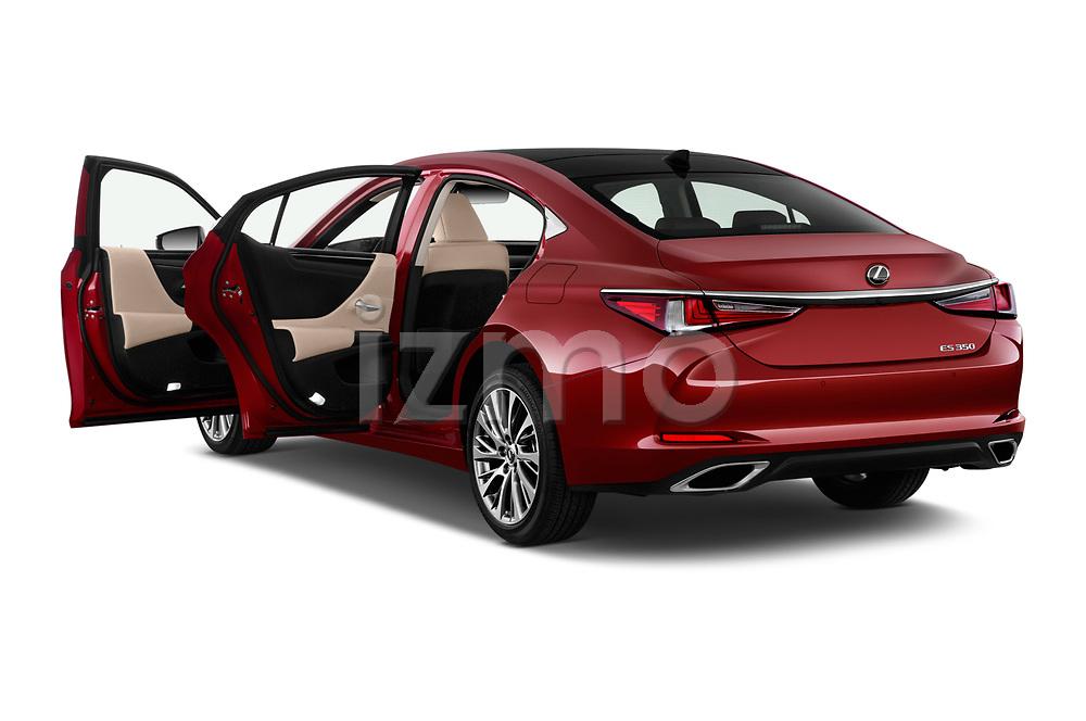 Car images close up view of a 2020 Lexus ES 350 4 Door Sedan doors