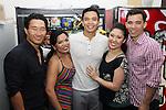 Here Lies Love-Backstage w/ Jose LLana, Ruthie Ann Miles, Melody Butiu, Conrad Ricamora 6/9/13