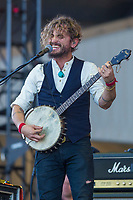 John Butler performs at the Festival d'ete de Quebec (Quebec Summer Festival) on July 15, 2018.