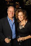 Chris Hill and his wife Heidi Hanna at the Buffalo Bayou Partnership's annual Ball on the Sabine St. bridge Thursday Nov. 05,2009. (Dave Rossman/For the Chronicle)