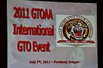 2011 GTO Nationals | GTO AA | Portland Oregon July 4-8, 2011