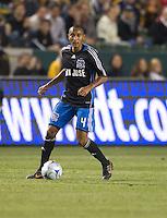 James Riley,.San Jose Earthquakes vs Los Angeles Galaxy, April 4, 2008, in Carson California. The Galaxy won 2-0.