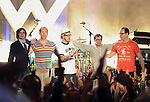 """Weezer  performs live at The Axe Music """"One Night Only"""" Concert series,Weezer headlines & takes over The Dunes Inn Motel in Hollywood, California on September 21,2010                                                                               © 2010 DVS / RockinExposures"""