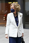 Queen Sofia of Spain arrives at the closing ceremony and end-of-year concert of the Reina Sofia School of Music. June 22, 2021. (ALTERPHOTOS/Acero)