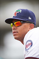 Fort Myers Miracle pitcher Fernando Romero (31) during a game against the St. Lucie Mets on August 9, 2016 at Hammond Stadium in Fort Myers, Florida.  St. Lucie defeated Fort Myers 1-0.  (Mike Janes/Four Seam Images)