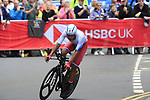 Alexander Evtushenko (RUS) in action during the Men Elite Individual Time Trial of the UCI World Championships 2019 running 54km from Northallerton to Harrogate, England. 25th September 2019.<br /> Picture: Eoin Clarke | Cyclefile<br /> <br /> All photos usage must carry mandatory copyright credit (© Cyclefile | Eoin Clarke)