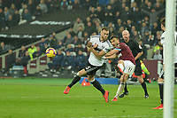 Robert Snodgrass of West Ham United shoots during West Ham United vs Fulham, Premier League Football at The London Stadium on 22nd February 2019