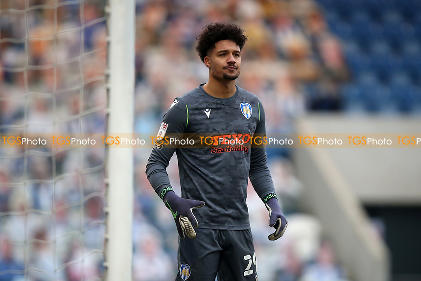 Shamal George of Colchester United during Colchester United vs Mansfield Town, Sky Bet EFL League 2 Football at the JobServe Community Stadium on 14th February 2021