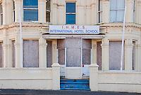 International Hotel School, closed,Port Erin, Isle of Man.