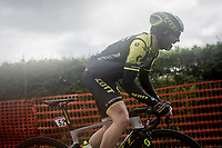 Michael Albasini (SUI/Mitchelton-Scott) up the Côte de La Redoute<br /> <br /> 105th Liège-Bastogne-Liège 2019 (1.UWT)<br /> One day race from Liège to Liège (256km)<br /> <br /> ©kramon
