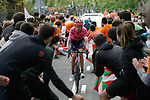 Hugh Carthy (GBR) EF Education-Nippo during Stage 6 of the Itzulia Basque Country 2021, running 111.9km from Ondarroa to Arrate, Spain. 10th April 2021.  <br /> Picture: Luis Angel Gomez/Photogomezsport | Cyclefile<br /> <br /> All photos usage must carry mandatory copyright credit (© Cyclefile | Luis Angel Gomez/Photogomezsport)