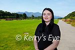 St Brigids Presentation students Kalin Paterson Headford Killarney who received 100% in the Leaving Cert Applied exam on Friday