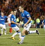 Jon Daly celebrates his second goal of the night