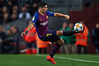 BARCELONA, 30-01-2019. Copa el Rey 2018/ 2019, round of 8 first leg. Barcelona-Sevilla. Luis Suarez of FC Barcelona controls the ball  during the game Barcelona 6-1 Sevilla <br /> Foto Pressinphoto/Proshots/Insidefoto