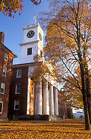 Amherst, college, church, MA, Massachusetts, Johnson Chapel on Amherst College campus in Amherst in the autumn.