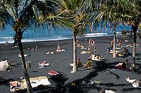 Spanien, Kanarische Inseln, La Palma, Strand von Puerto Naos